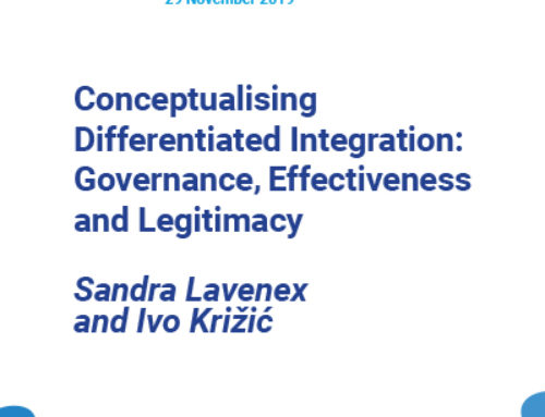 Conceptualising Differentiated Integration: Governance, Effectiveness and Legitimacy