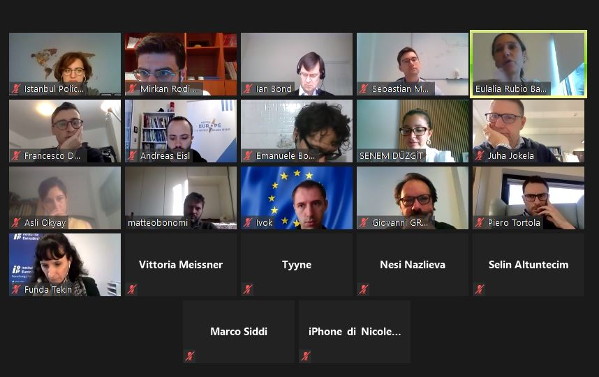 Virtual workshops and Executive Board meeting in Istanbul